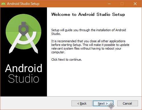 SnapCrab_Android Studio Setup_2016-7-18_0-39-11_No-00