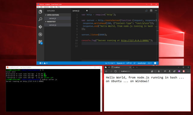 Bash on Windowsの改善点まとめ(Creators Update) | 有限工房