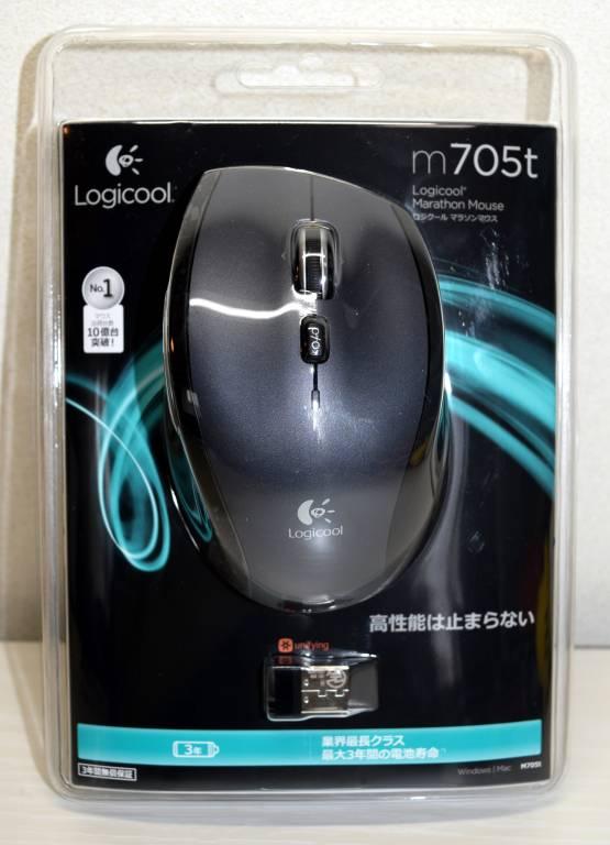 ロジクール M705t パッケージ