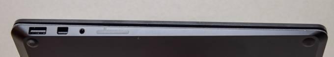 Surface Laptop 2ポート類(本体左側面)