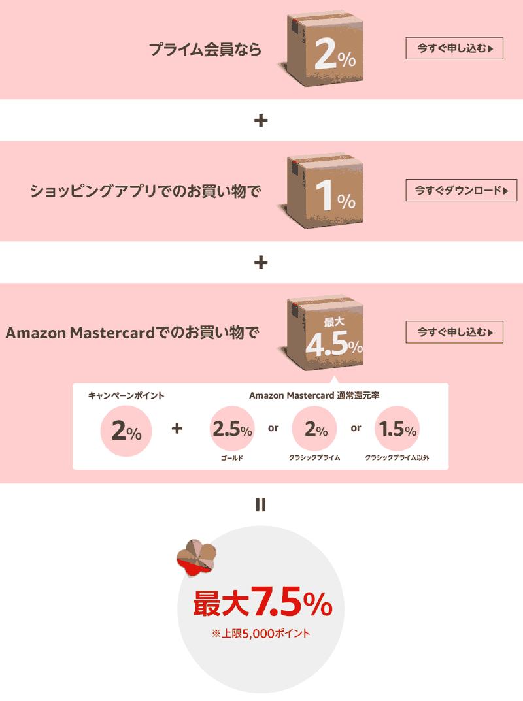 Amazon初売り 2020 ポイントアップキャンペーン