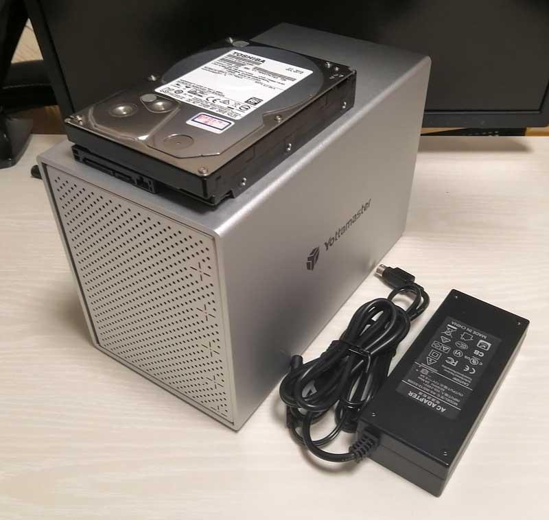 Yottamaster PS500C3のサイズ感